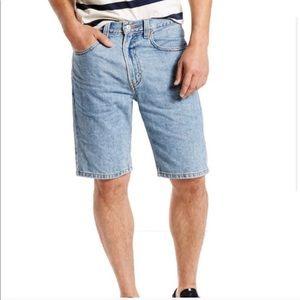 NWT Levi's 505 Denim Jean Shorts Mens Reg Fit J179